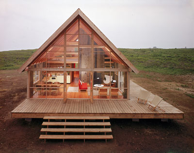 Casas de madera de lujo - Interiores casas de madera ...