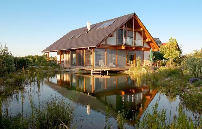 Casas de madera de lujo - Casas de madera lujo ...